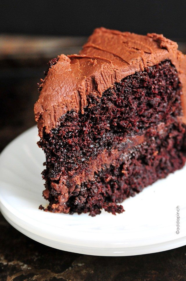 image of chocolate cake for breakfast